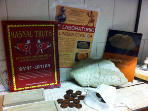 Thrune Etrusche in Ceramica