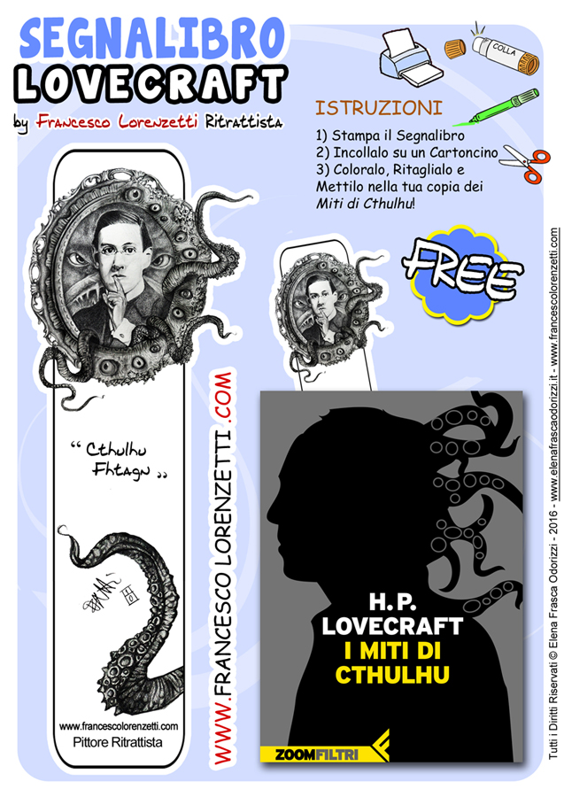 Segnalibro Lovecraft