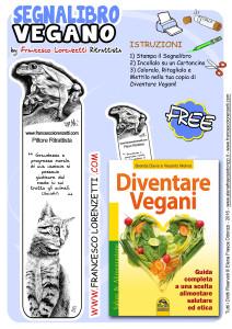 Segnalibro Vegan